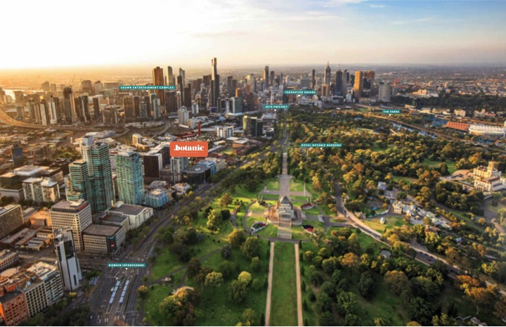 Melbourne city photo