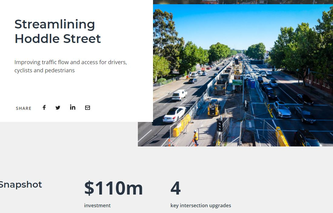 infrastructure developments in Melbourne