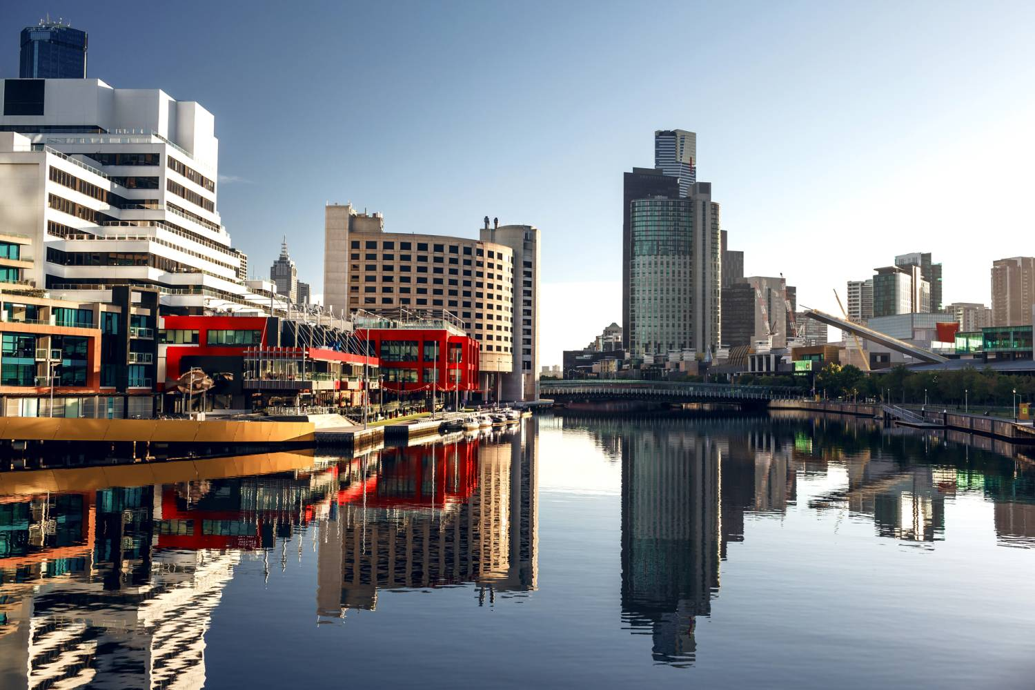 melbourne buildings market difference between Australian and world